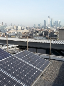 Solar Panels are already on some South Bank buildings