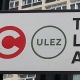 ULEZ sign at the Elephant